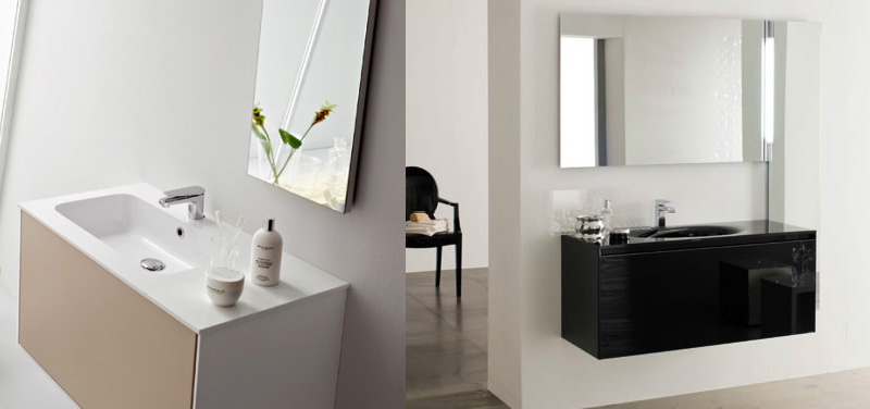 Mobili per bagno roma best arredo bagno in vetro with for Arredi bagno roma