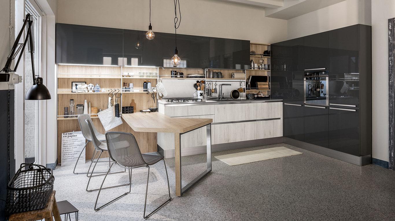 Cucina Moderna Veneta Cucine Start time go - Arredamenti L\'Opera