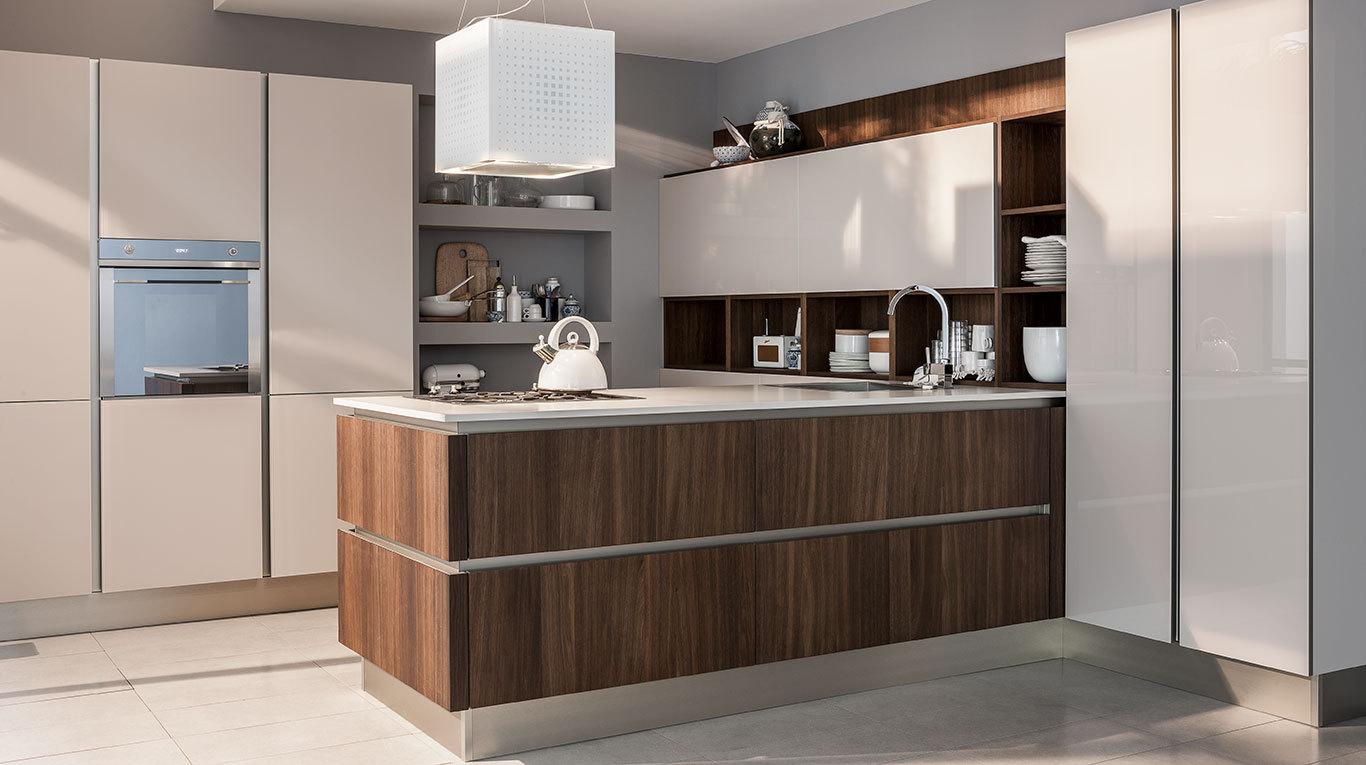 Veneta Cucine Reflex.Cucina Moderna Veneta Cucine Ri Flex Arredamenti L Opera