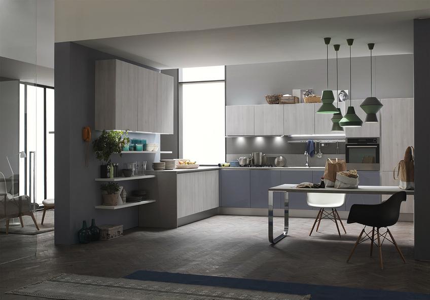 Cucina moderna forma nice arredamenti l opera