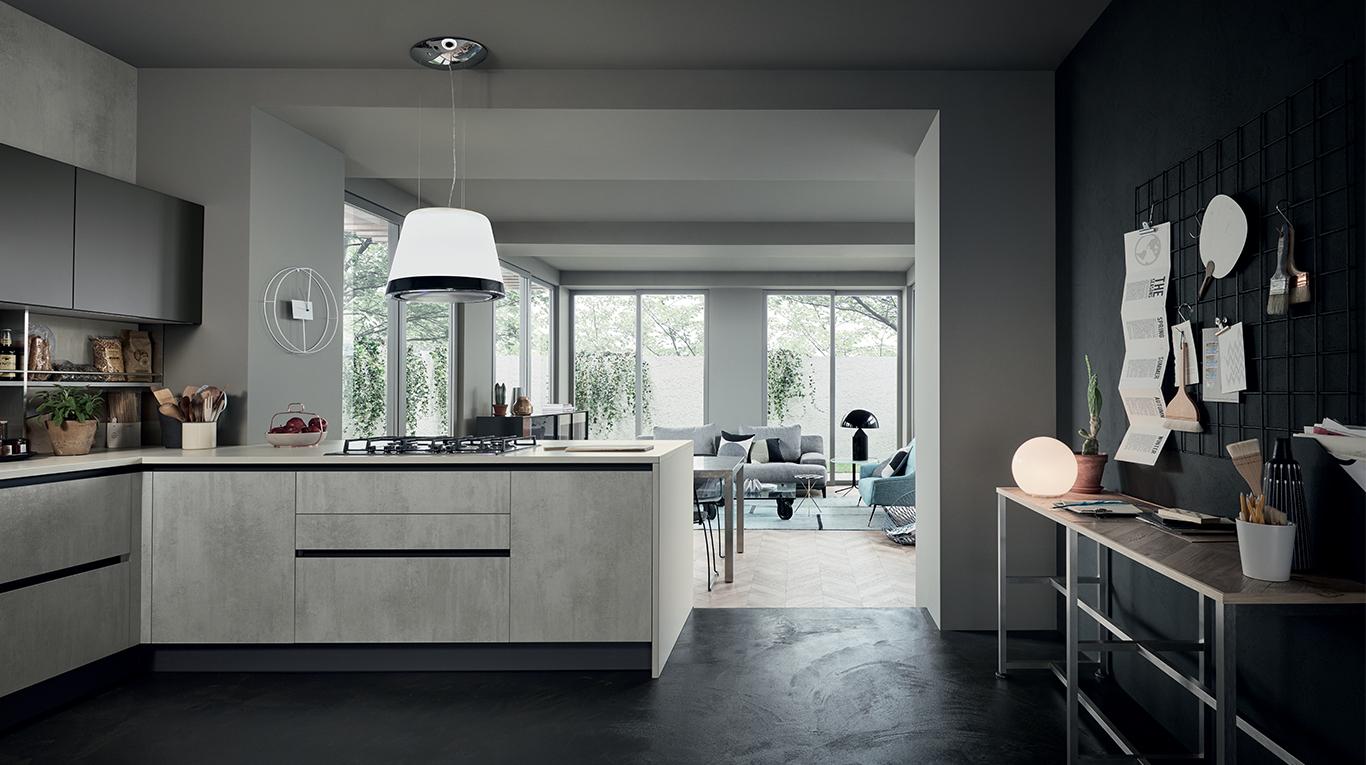 Cucina Moderna Veneta Cucine Oyster Dec - Arredamenti L\'Opera
