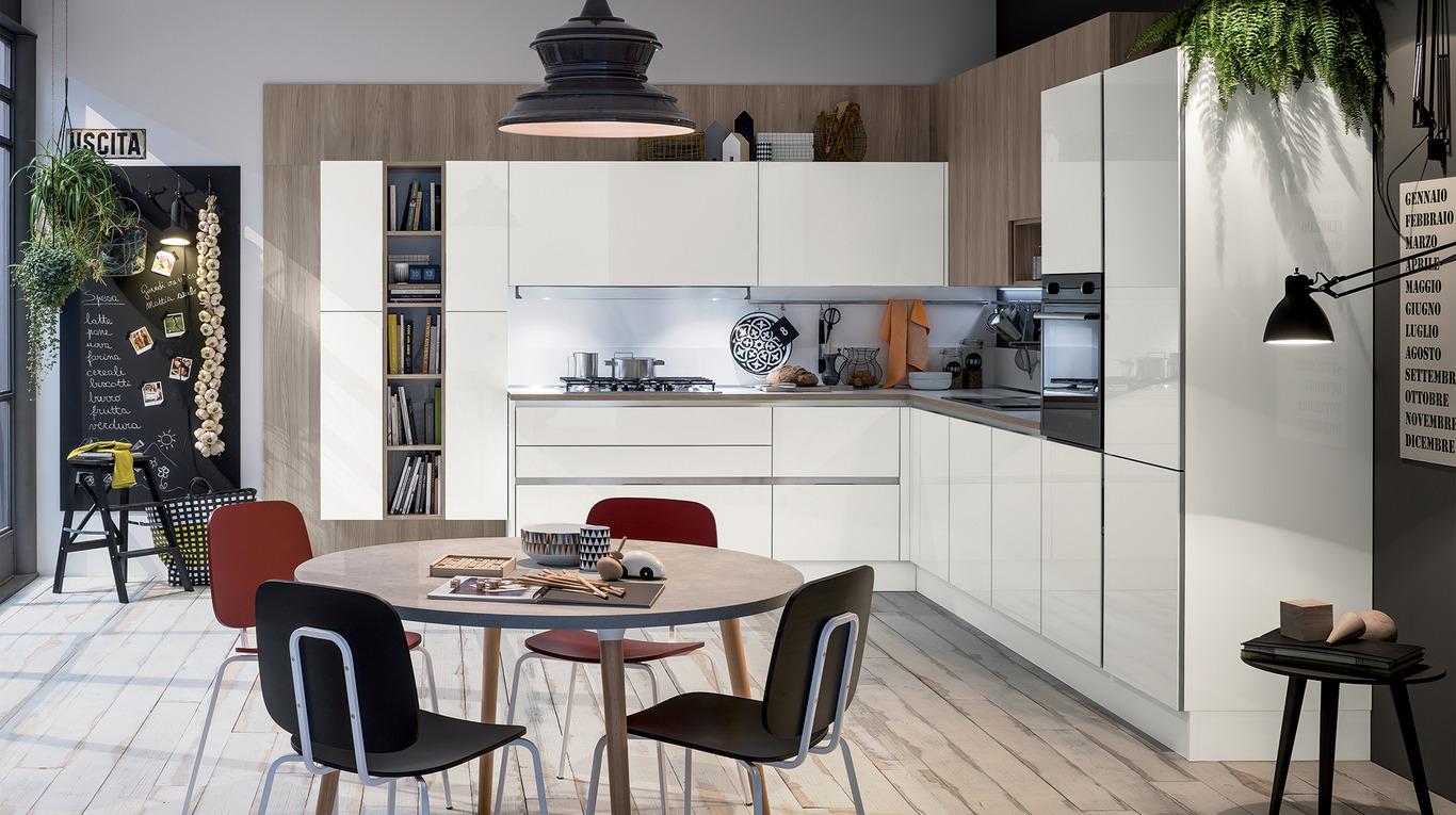 """Cucina Moderna Veneta Cucine """"Like GO"""" - Arredamenti L\'Opera"""