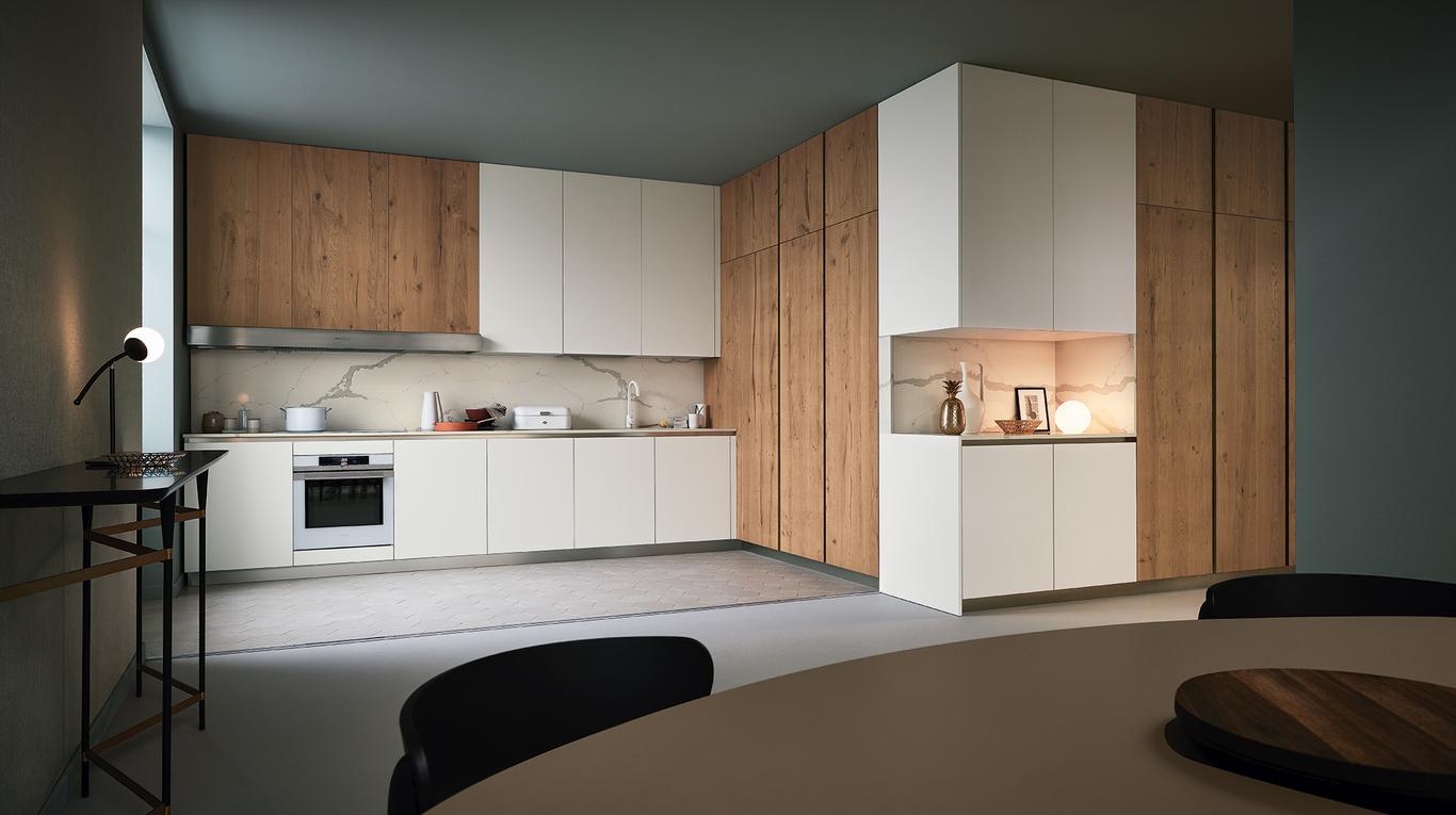 Cucine A Scomparsa Veneta Cucine.Cucina Moderna Veneta Cucine Lounge Arredamenti L Opera