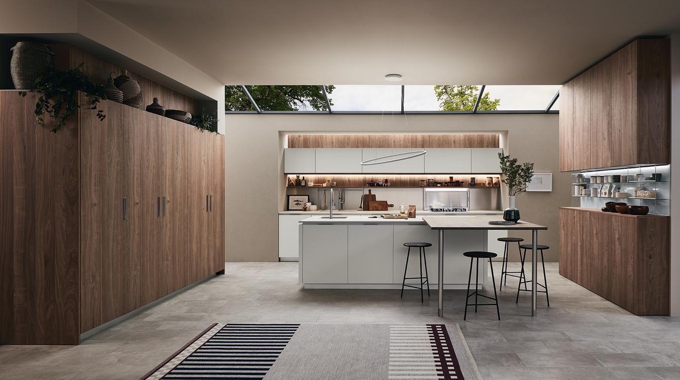 """Cucina Moderna Veneta Cucine """"Lounge"""" - Arredamenti L\'Opera"""