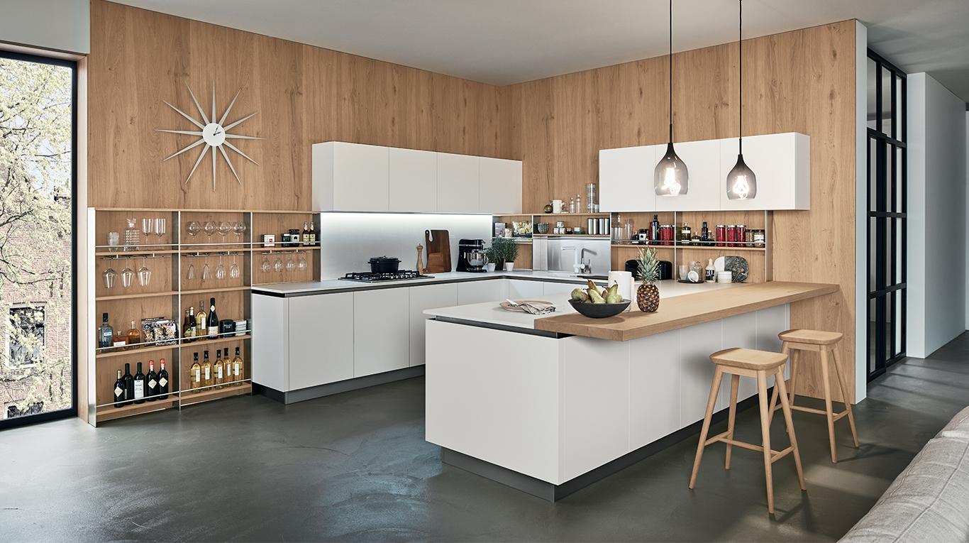 """Cucina Moderna Veneta Cucine """"Oyster Pro"""" - Arredamenti L\'Opera"""
