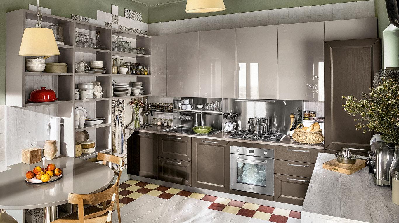 """Cucina Moderna Veneta Cucine """"Tablet"""" - Arredamenti L\'Opera"""