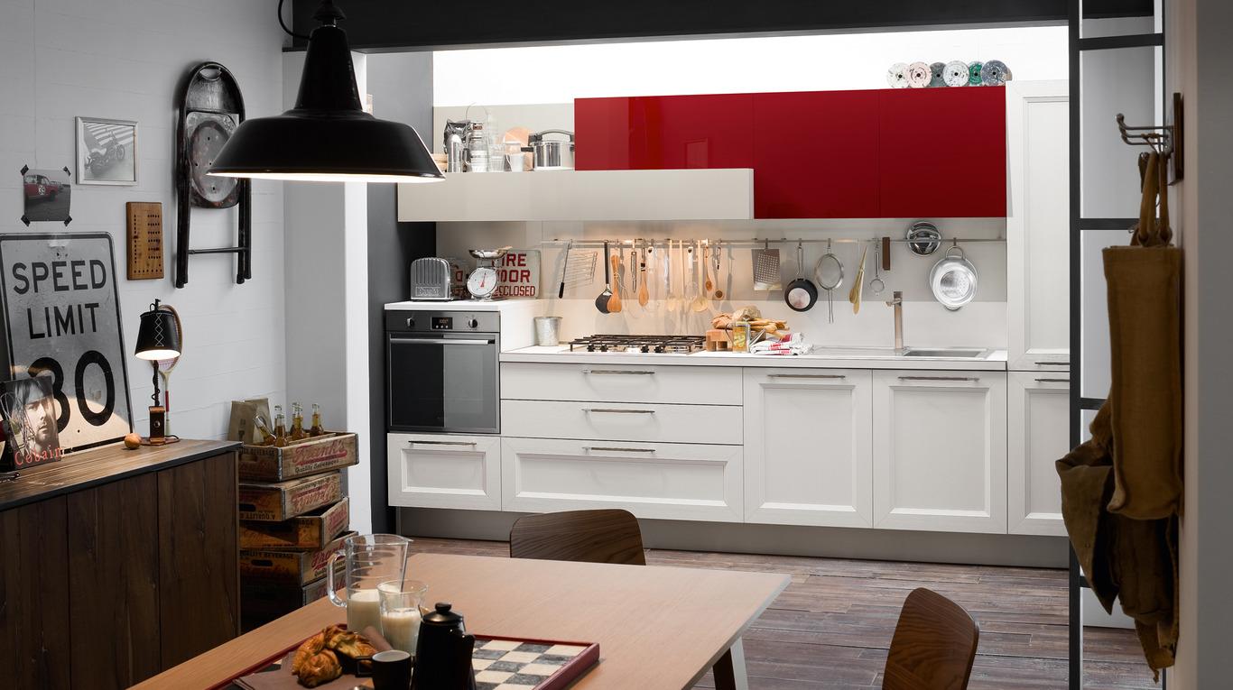 Veneta Cucine Maniglie.Cucina Moderna Veneta Cucine Tablet Arredamenti L Opera