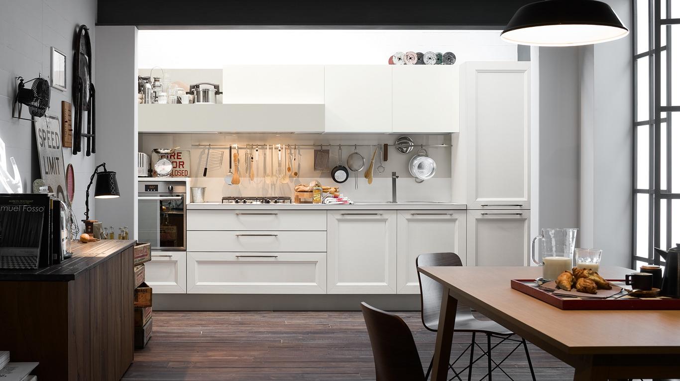Veneta Cucine Bergamo.Cucina Moderna Veneta Cucine Tablet Arredamenti L Opera