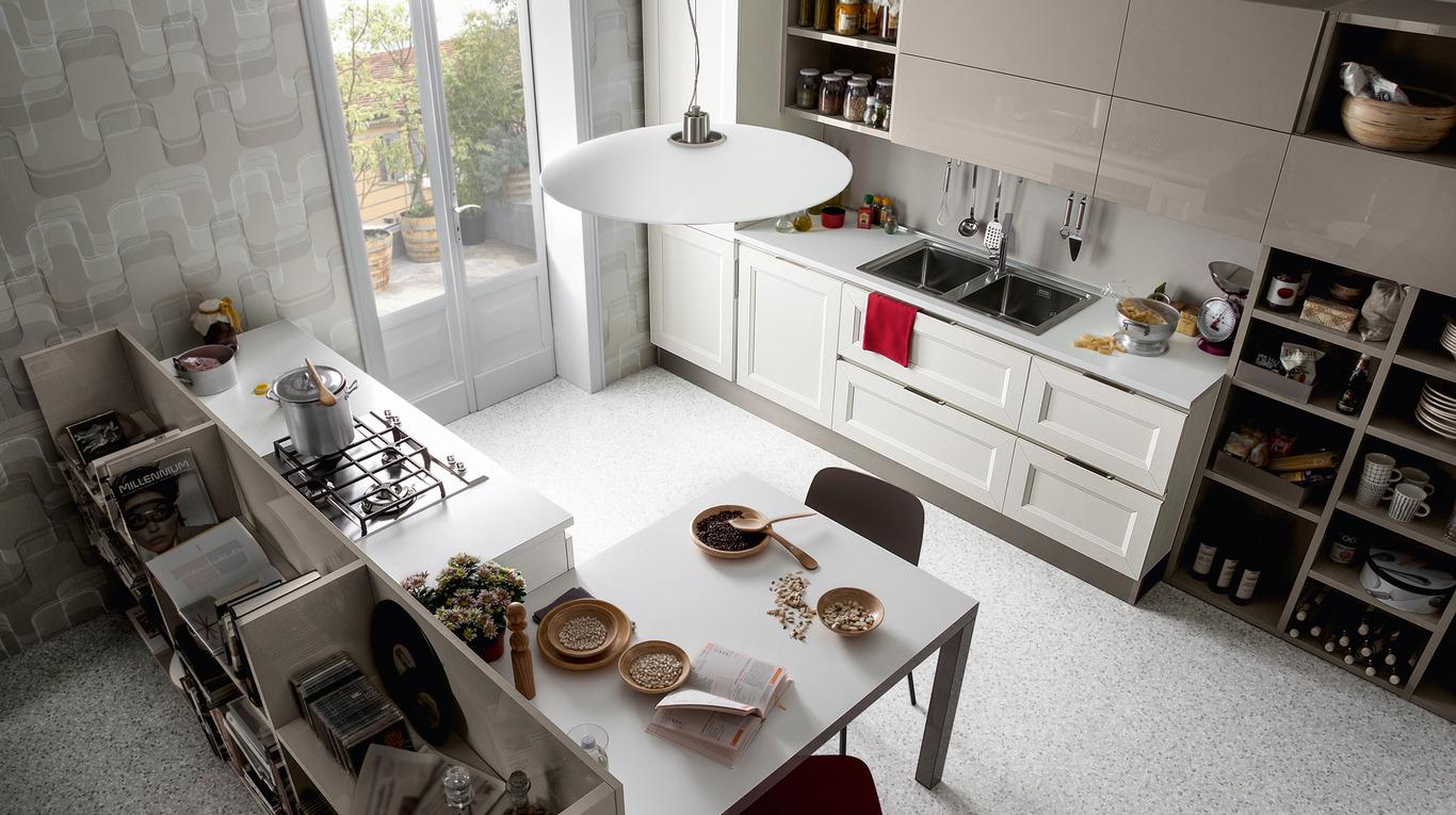 Cucina Tablet Veneta Cucine.Cucina Moderna Veneta Cucine Tablet Go Arredamenti L Opera